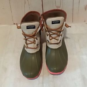 Sperry ankle boots 8M